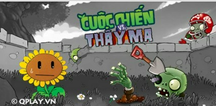 Game-Cuoc-Chien-Thay-Ma-Plants-Vs-Zombie